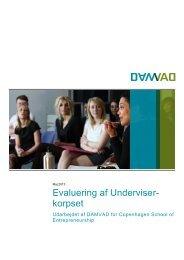 Evaluering af Underviser - Copenhagen School of Entrepreneurship ...