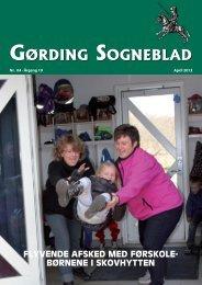 GørdinG SoGneblad GørdinG SoGneblad - Gørding.dk