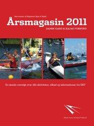 Årsmagasin 2011 - Dansk Kano og Kajak Forbund