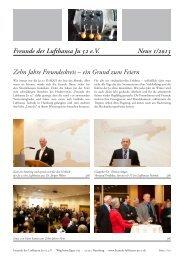 News lesen [pdf] - Freunde der Lufthansa Ju 52 eV