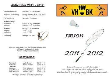 sæsonhæfte 2011-2012 - Vester Hornum