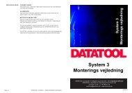 monteringsvejledning system 3.indd - CarTronic A/S