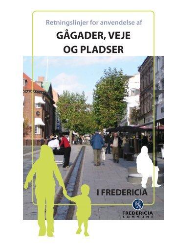 Retningslinjer for anvendelse af gågader, veje og pladser i ...
