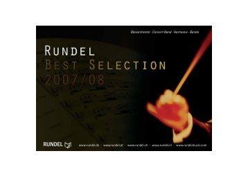 Blasorchester · Concert Band · Harmonie · Banda - Musikverlag ...