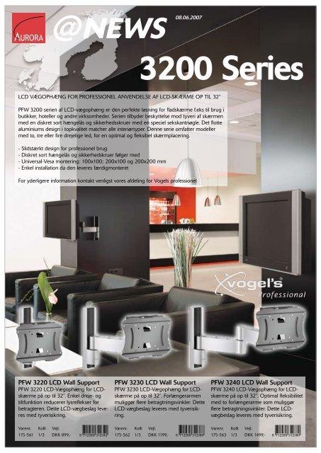 3200 Series - Aurora Group Danmark A/S