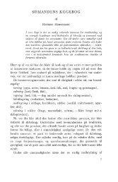Henning Henningsen: Sømandens kogebog, s. 7-37