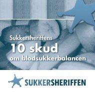 Sukkersheriffens 10 skud om blodsukkerbalance