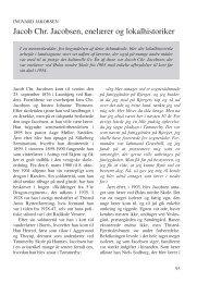 Jakobsen, Ingvard: Jacob Chr. Jacobsen ... - Thisted Museum