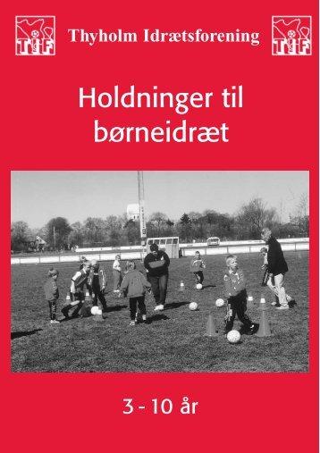 200101 - Holdninger - Thyholm Idrætsforening