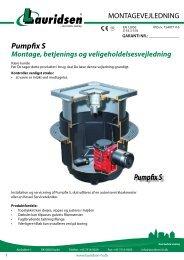 Pumpfix S - Lauridsen Handel og Import A/S