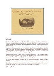 jubilæumsskriftet - Grundejerforeningen Hundiegård