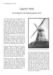 Uggerslev Mølle 50 år i 1930. - Nordfynsk.dk