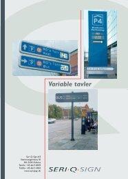 Brochure - Seri Q Sign Vejskilte