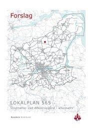 Lokalplan (alt. forslag) - allestrupgaardvindkraft.dk