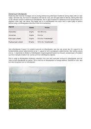 Etablering af efterafgrøder Etablering efter høst kan foretages ved en ...