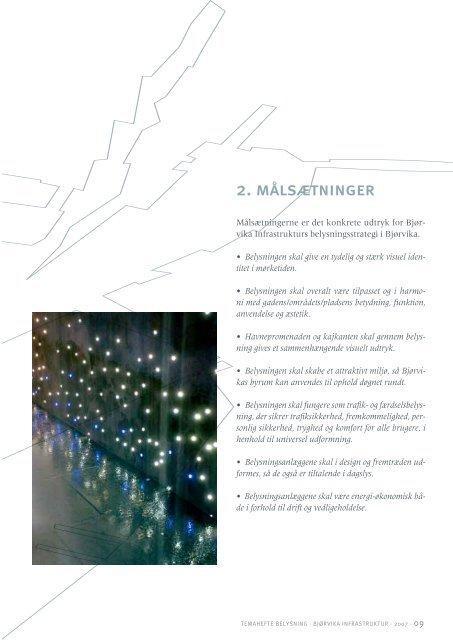 BELYSNING - Fjordbyen