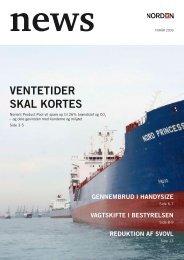 VenTeTider sKaL KOrTes - Dampskibsselskabet NORDEN A/S