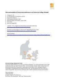 Informationspakke til bestyrelsesmedlemmer ved University College ...