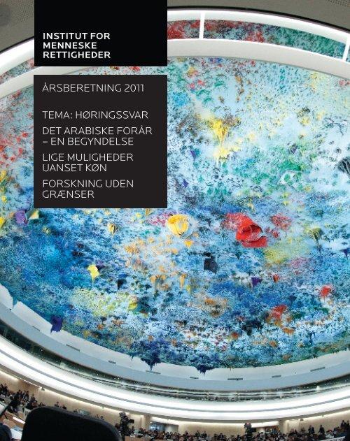 Download Årsberetning 2011 her - Institut for Menneskerettigheder