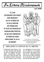 kærlighed til kristus og til næsten til juni opfordrer vor fader pave ...
