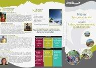 Télécharger la plaquette de présentation du master LEST parcours LS