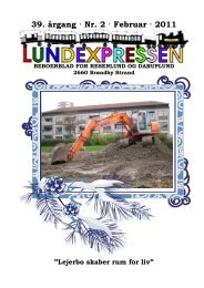 39. årgang · Nr. 2 · Februar · 2011 - lundens.net