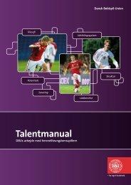 Link til talentmanual - DBU