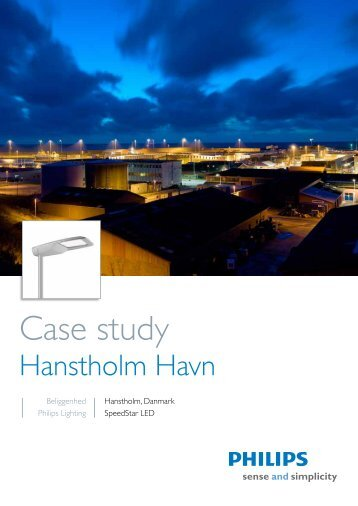 Case study - Hanstholm El-forretning
