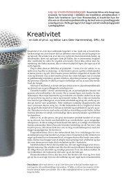 Kreativitet - Hans Reitzels Forlag