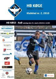 Download klubblad - HB Køge