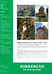 Nr. 1 62. Årgang marts - august 2012 - Paarup kirke