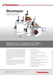 Produktblad - Shuntopac DK