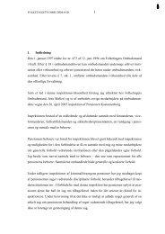 Pensionen Kastanienborg - Folketingets Ombudsmand
