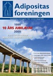 Nr. 1 - Jubilæumsnummer 10 år - Adipositasforeningen