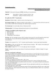 Regler og stævneinfo