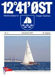 Nr. 4 November 2007 34. årgang - Dragør Sejlklub
