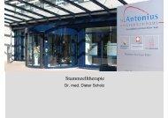Update autologe Stammzelltransplantation [Schreibgeschützt]