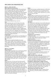Spilleregler for Rinkbandy (pdf)