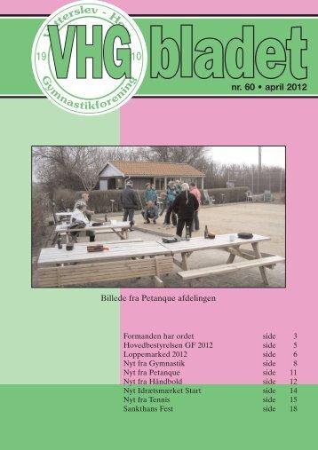 20 sider april 2012 - Vetterslev Høm gymnastikforening