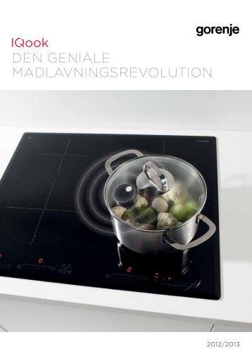 Pdf katalog: IQook Den geniale madlavningsrevolution - Gorenje