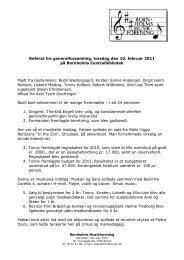 Referat fra generalforsamling, torsdag den 10. februar 2011 på ...