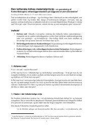 Den lutherske kirkes materialprincip - Den Evangelisk Lutherske ...