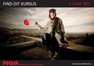 FIND DIT KURSUS - Prosa