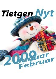 TietgenNyt - januar/februar 2009 - TietgenSkolen