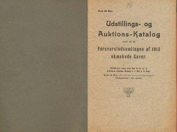 Udstillings- og Auktions-I^af alog