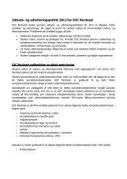 Udbuds- og udliciteringspolitik 2012 for EUC Nordvest