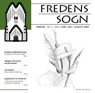 2005 nr. 3 - Fredens Kirke/Fredens sogn
