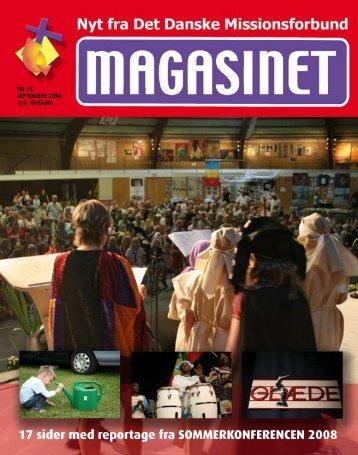 17 sider med reportage fra SOMMERKONFERENCEN 2008