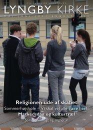 Lyngby kirkeblad maj - aug 2010