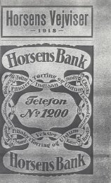 Horsens Vejviser 1918